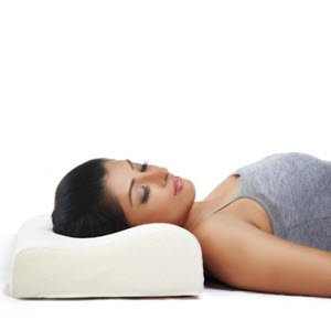 Memory Foam Cervical Pillow Spinalogy Clinic