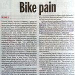 Growing Cases of Bike Pain