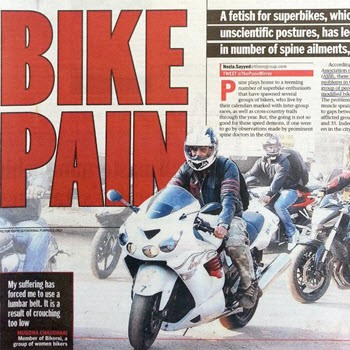 Back Pain in Bikers