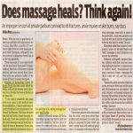 Feature Does Massage Heals. Think again