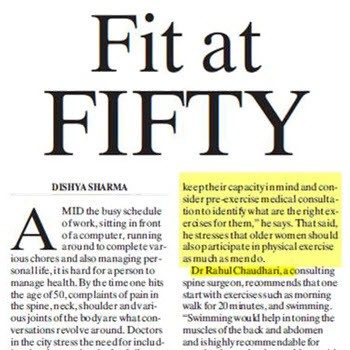 Be Fit at Fifty