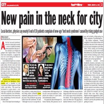 Mobile Phones – New Pain in the Neck for City