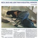 Feature Neck, Back and Joints Pain in Industrial Workers