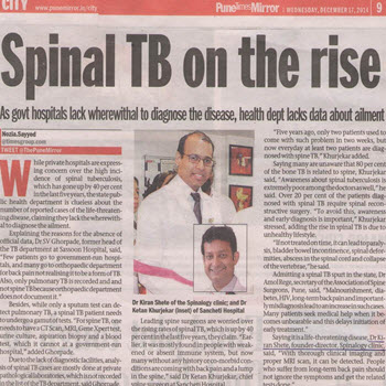 Why Spinal TB is on Rise These Days