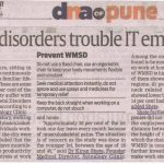 Muscle Disorder Trouble IT Employees