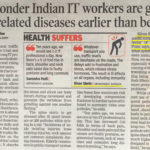 Indian IT Workers Health Problem - Spinalogy