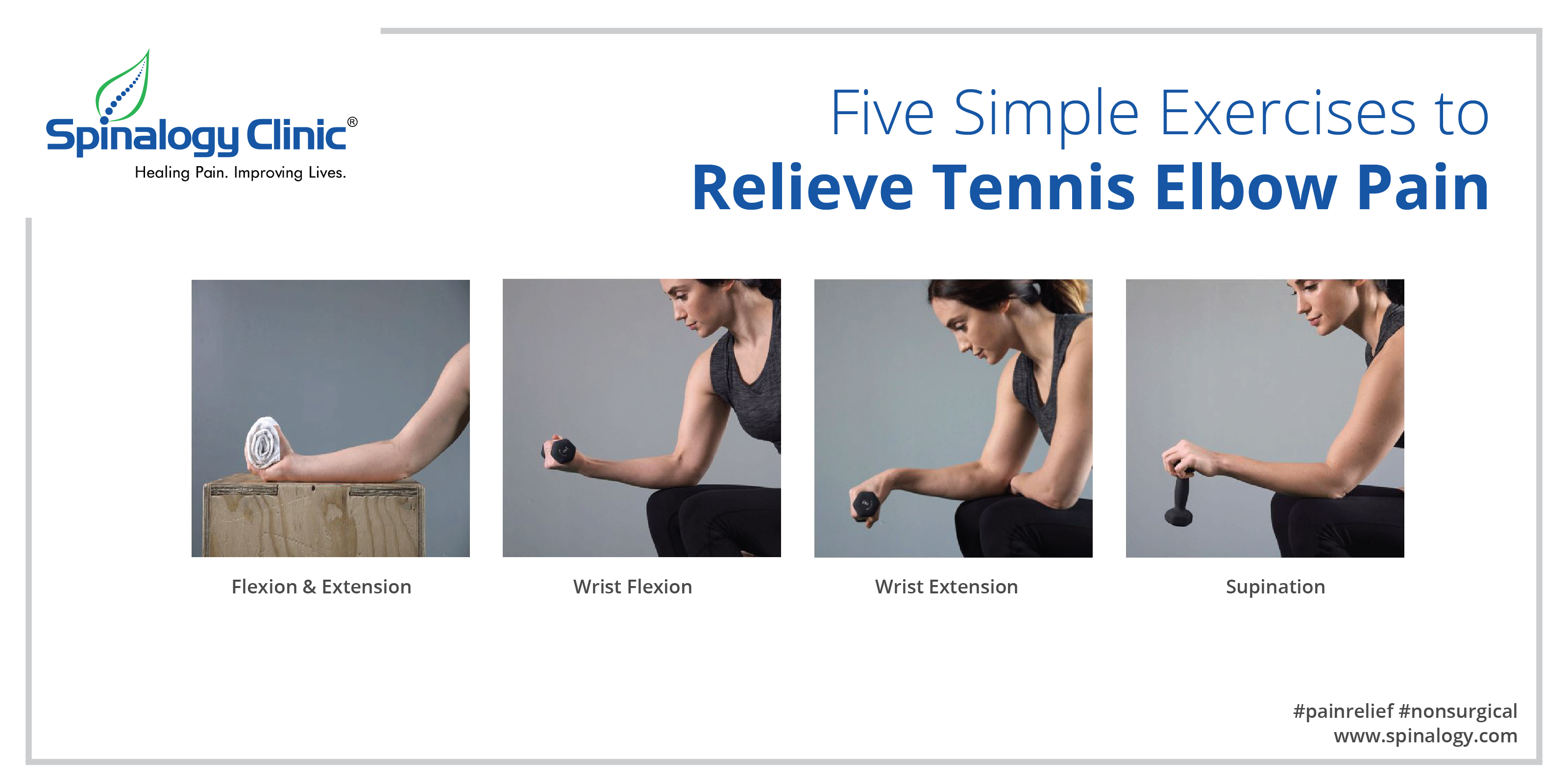 Five Simple Exercises To Relieve Tennis Elbow Pain