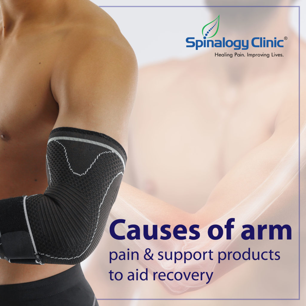 Causes of Arm Pain & Support Products to Aid Recovery